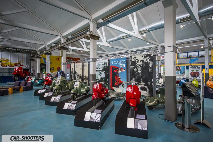 Panoramica del Museo Piaggio di Pontedera