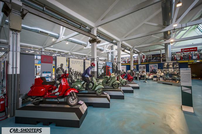 Panoramica Vespa Rally e da corsa