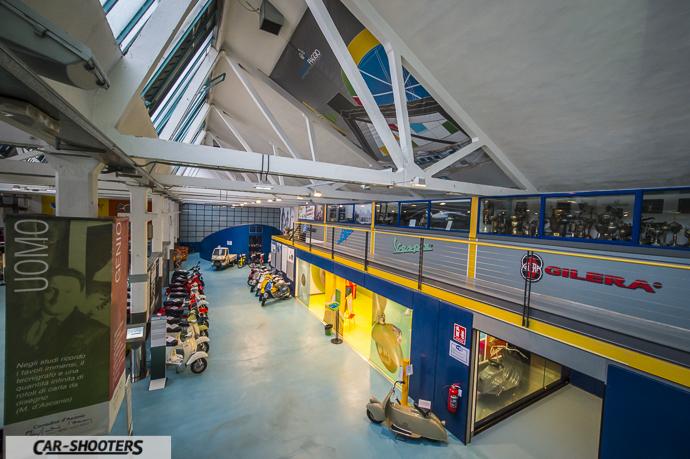 Panoramica del Museo Paggio dal secondo piano