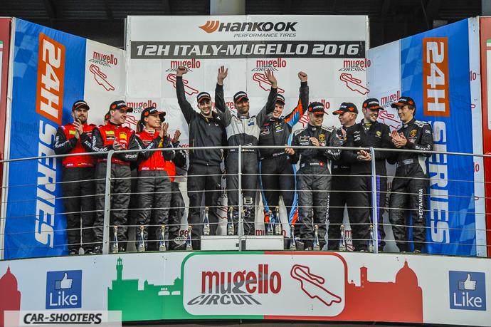 12h Mugello 2016 podium