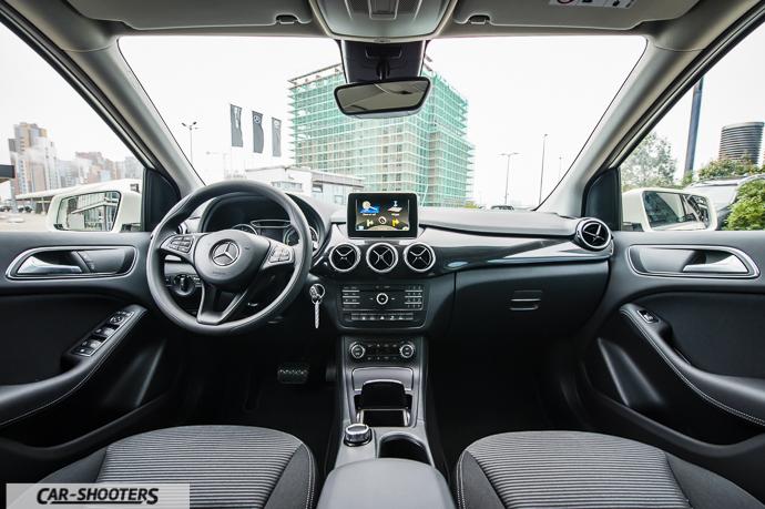 Interni Mercedes-Benz Classe B Electric Drive