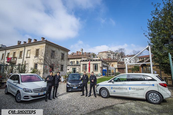 Lineup auto elettriche di Mercedes-Benz