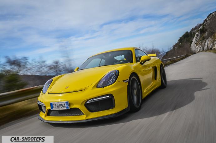 Porsche Cayman GT4 test drive