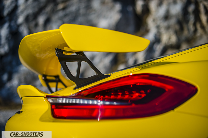 Spoiler Porsche Cayman GT4