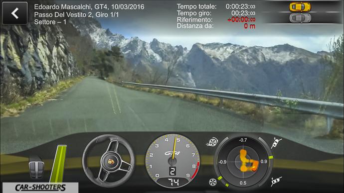 Porsche Cayman GT4 Porsche Track Precision App