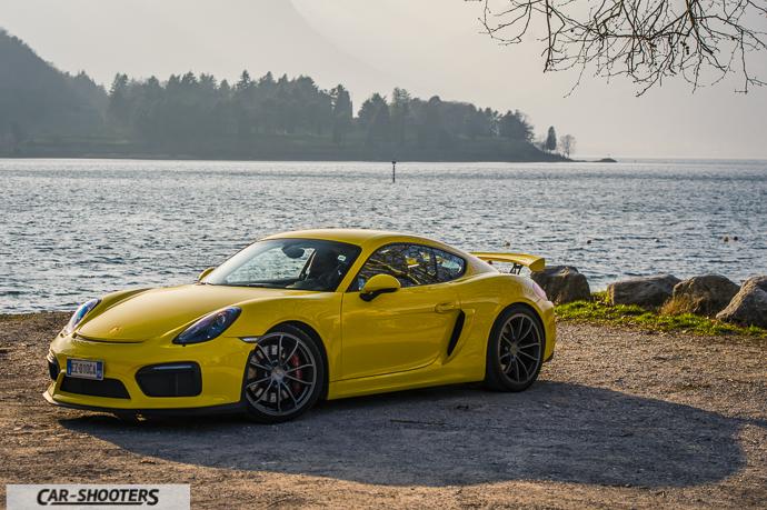 Piona e Porsche Cayman GT4