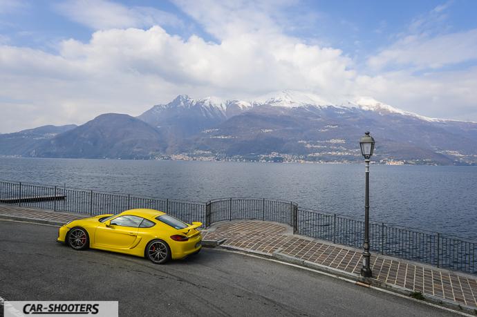 Bellano e Porsche Cayman GT4