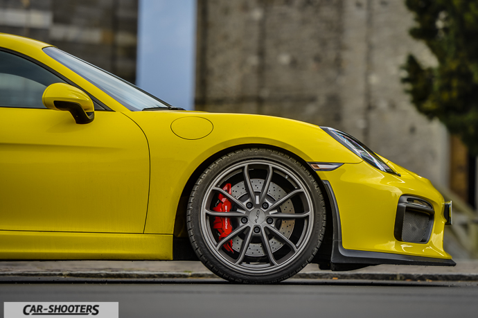 Frontale Porsche Cayman GT4