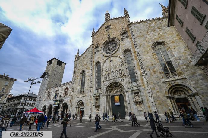 Duomo di Como, vista della facciata