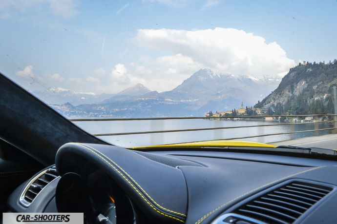 Gravedona e Porsche Cayman GT4