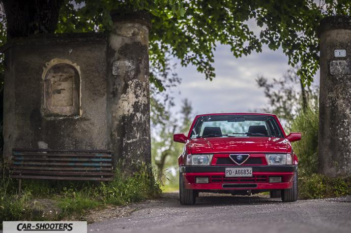 Alfa Romeo 75 frontale