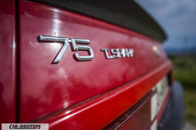 Alfa Romeo 75 logo
