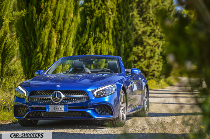 Mercedes-Benz SL400 frontale