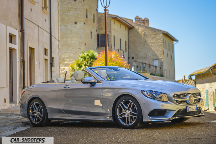 Mercedes-Benz Classe S Cabrio frontale