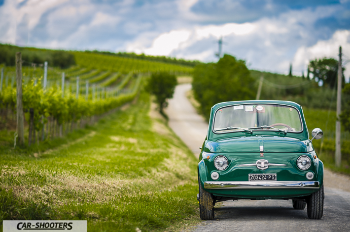 Fiat Nuova 500 Convertible frontale