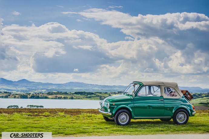 Fiat Nuova 500 Convertible Fianco