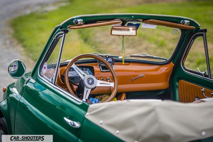 Fiat Nuova 500 Convertible interni
