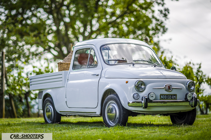 Fiat 500 Camioncino frontale
