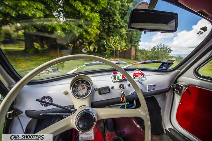 Fiat 500 Camioncino interni