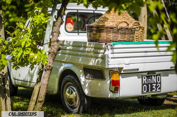 Fiat 500 Camioncino cassone dettaglio
