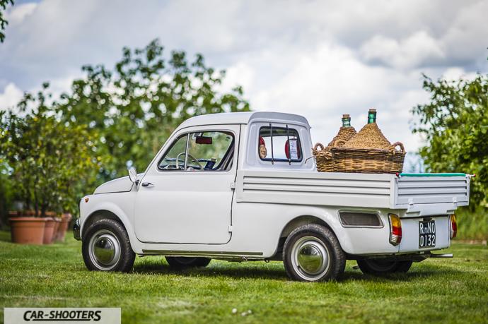 Fiat 500 Camioncino posteriore