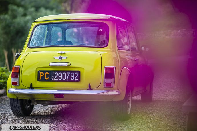 Austin Mini posteriore