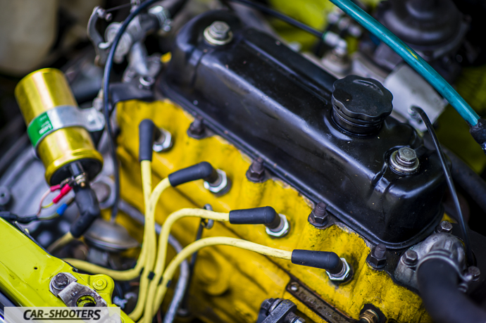 Austin Mini motore