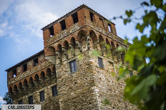 Castello vicino Firenze nel Mugello
