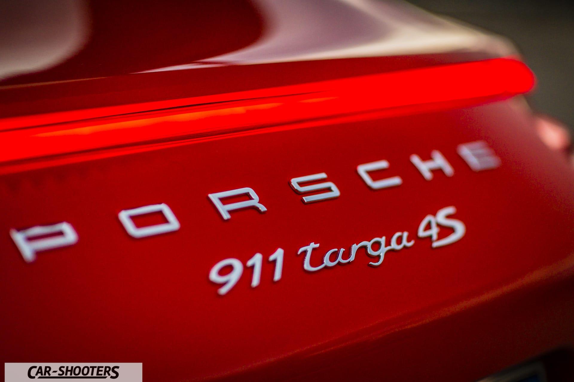 Porsche 911 Targa 4S luci led