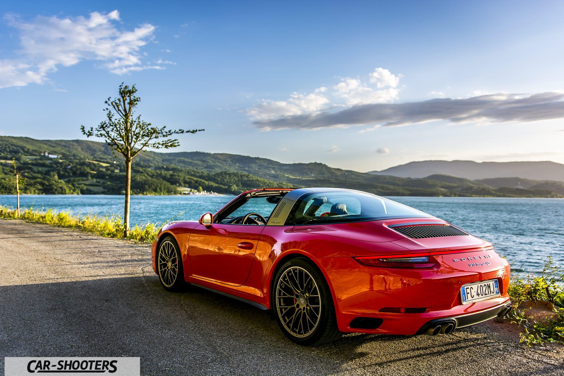 Porsche 911 Targa 4S posteriore
