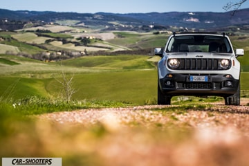 Jeep Renegade Night Eagle Prova su Strada