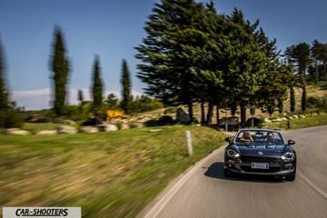 Fiat 124 Spider Prova su Strada