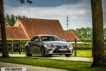 lexus rc 300h f sport: séduction technologique - essai