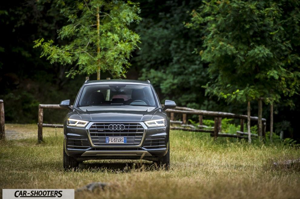 Audi Q5 Prova su Strada