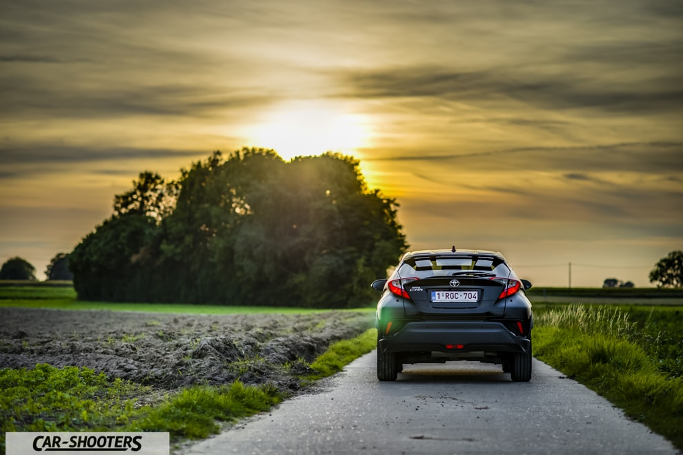 Toyota C-HR Prova su Strada