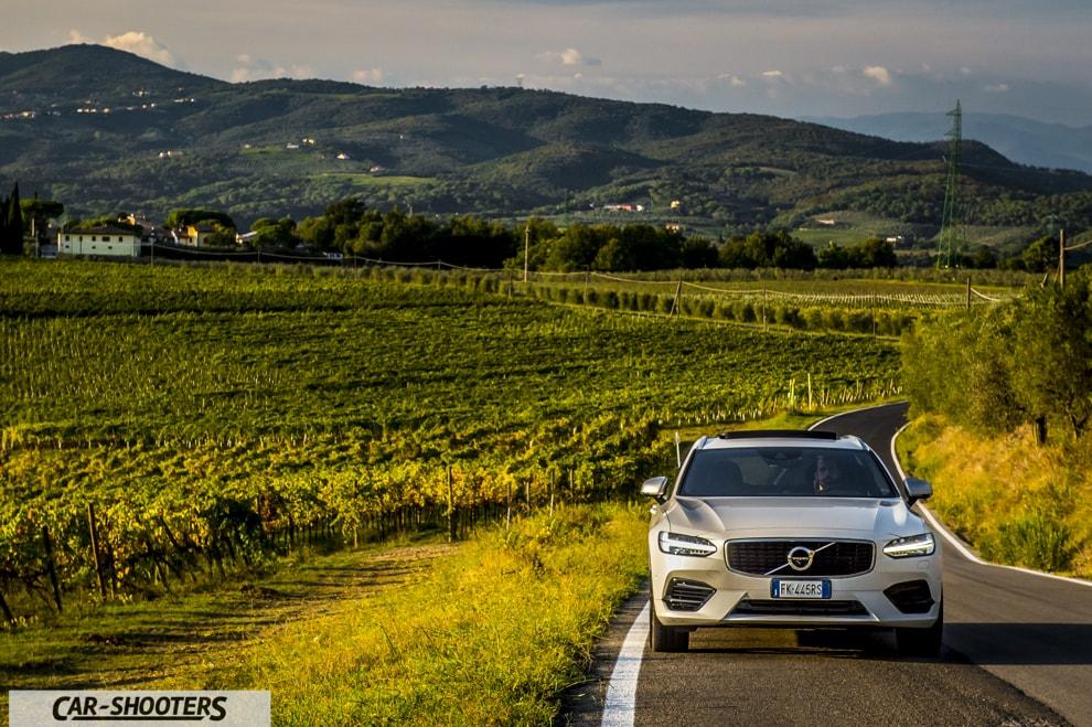 Volvo V90 T8 Prova Su Strada