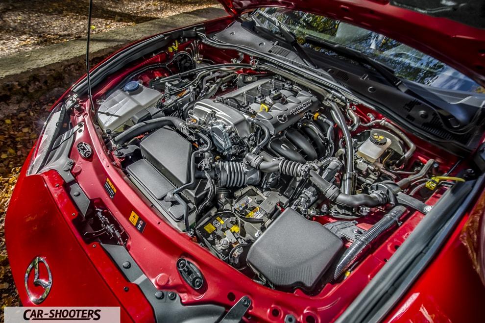 Mazda MX-5 ND Disposizione dei cilindri in linea