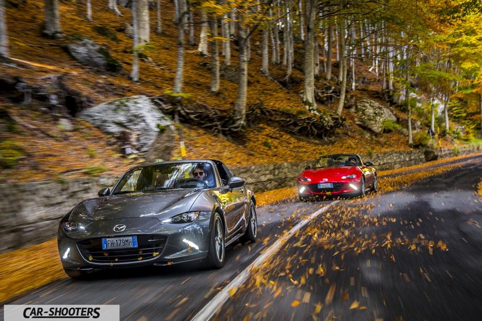 Mazda MX-5 ND Prova su Strada