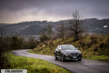 Mazda CX-3 Luxury Edition Prova su Strada