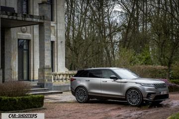 Range Rover Velar Prova su Strada