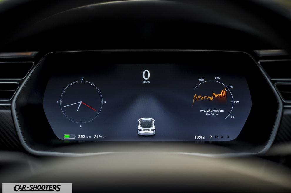 Tesla Model S 100D Prova su Strada