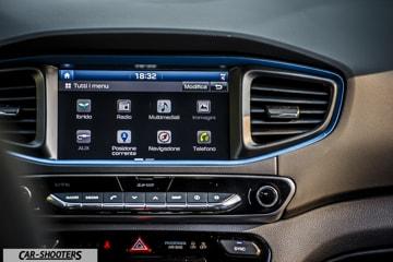 Hyundai Ioniq Hybrid Prova su Strada