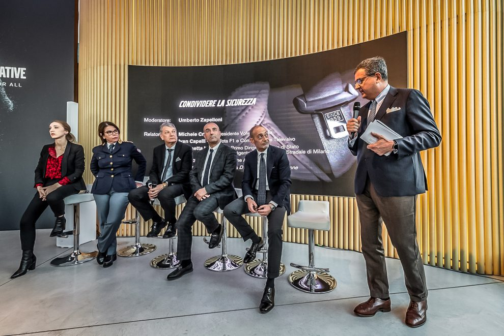 CONFERENZA SICUREZZA VOLVO STUDIO MILANO