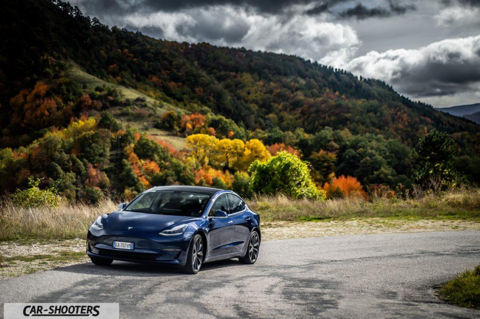 Tesla Model 3 Performance Prova su Strada