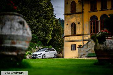 Car-Shooters Mercedes Benz Classe B Prova su Strada